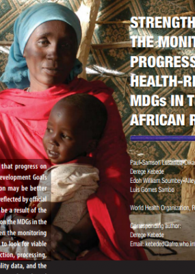 Strengthening the Monitoring of Progress on the Health-Related MDGs in the African Region