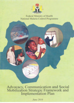 Malaria ACSM Strategic Framework and Implementation plan (SFIP)