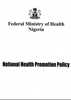 National Health Promotion Policy
