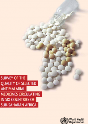 Survey of the quality of selected antimalarial medicines circulating in six countries of sub-Saharan Africa