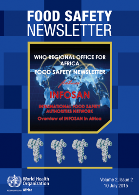 Food Safety Newsletter, Volume 2, Issue 2 - July 2015