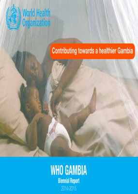 WHO Gambia Biennial Report 2014-2015