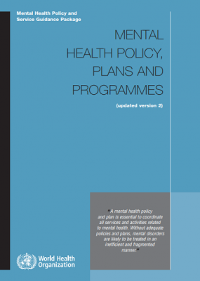 Mental Health Policy and Service Guidance Package: Monitoring and evaluation of policies and plans