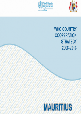 Country Cooperation Strategy: Mauritius 2008-2013