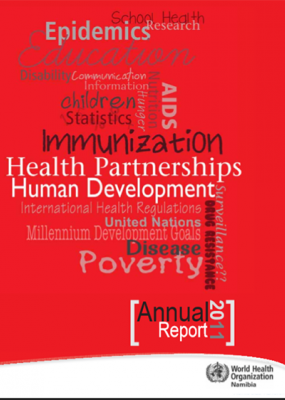 WHO Namibia Annual Report 2011
