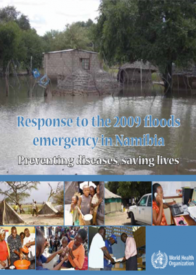 Response to the 2009 floods emergency in Namibia