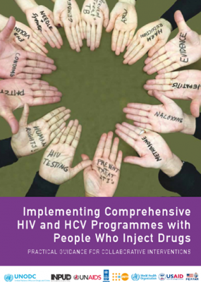 Implementing comprehensive HIV and HCV programmes with people who inject drugs