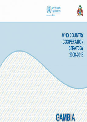 Gambia Country Cooperation Strategy 2008-2013