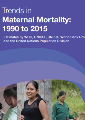 trends in maternal mortality