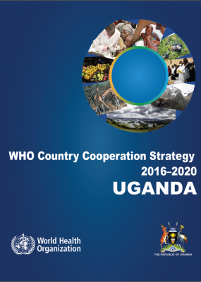 Cover of the WHO in Uganda Country Cooperation Strategy
