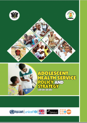 Adolescent Health Services Policy and Strategy, 2016-2020