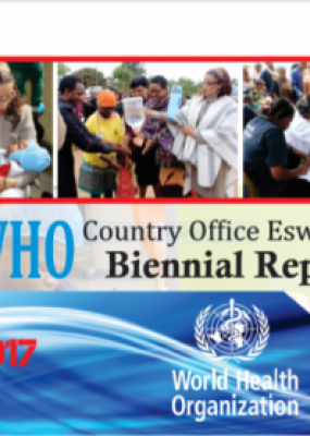 Eswatini WHO Country Office: Biennial Report 2016-2017