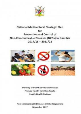 Cover page of NCD Strategy