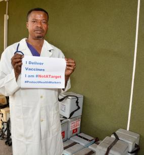 Health workers are #NotATarget