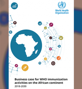 WHA Technical Briefing - Official launch of the business case for WHO immunization activities on the African continent