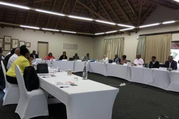 Independent Advisory Group (IAG) meets in Rustenburg, South Africa, from 20-21 March 2018.