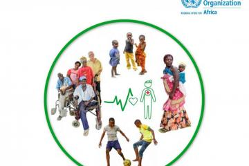 "Cover image of the report ""The state of health in the African Region"""