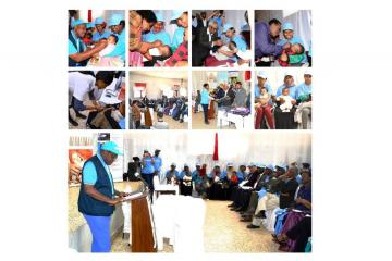 Eritrea launches the Meningitis A Vaccination and Vitamin A supplementation Campaign November – December 2019