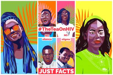 WHO is spilling #TheTeaOnHIV for at least one million young Africans