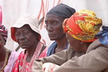 Trachoma causes blindness in poor rural communities.