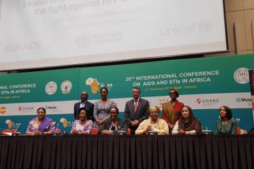 African First Ladies laud progress against HIV, urge more efforts
