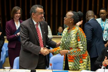 WHO Africa Regional Director gets new term, vows to step up universal health coverage