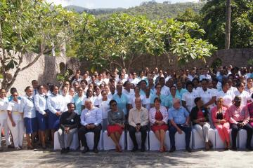 "Nurses' and midwives' critical role to the provision of health services in the Seychelles strongly articulated at the launching of the ""Year of the Nurse and Midwife"""