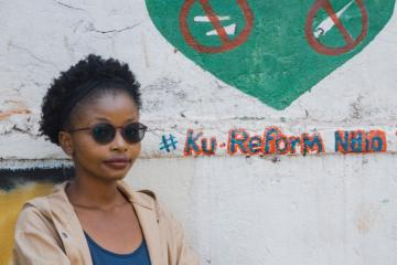 Youth advocate in Kenya's tobacco control drive