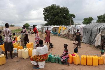 Keeping displaced persons safe from COVID-19 in South Sudan
