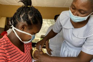 Sierra Leone reversing immunization decline in wake of COVID-19