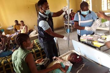 WHO supports Delta State in the fight against Cholera outbreak