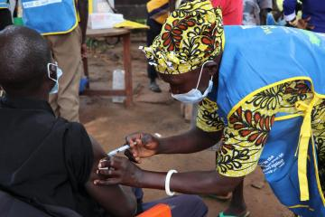 Over 56 000 individuals vaccinated against Yellow Fever in Morobo, Lainya and Yei River Counties of Central Equatoria State, South Sudan thumbnail