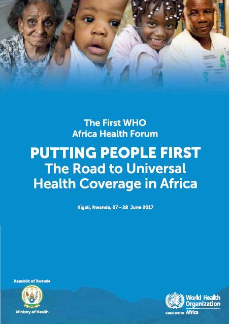 The first WHO Africa Health Forum - Report