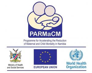The HEW training is being supported by the World Health Organization (WHO), through the Programme for Accelerating the Reduction in Maternal and Child Mortality (PARMaCM). PARMaCM is a joint partnership between MHSS and the European Union (EU),with the EU providing financial support and WHO providing technical support. It was launched in February 2013 with a total budget of 10 million Euros (+/- 130 million Namibia Dollars), and will run until 2017.
