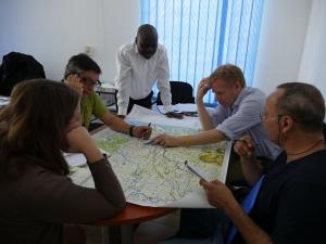 WHO team organizing intensive response to the new Ebola case reported in Kambia.jpg