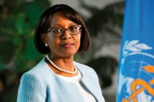 Dr. Matshidiso Moeti, head of the World Health Organization's Regional Office for Africa