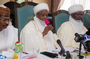 (L-R) ED NPHCDA, the Sultan and Emir of Argungungu at the NTLC meeting