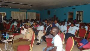Cross section of participants at the commemoration. Photo: WHO