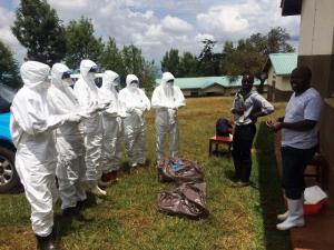 WHO helps Kenya guard against Marburg Virus Disease