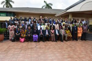 Group photograph of Participants at the AVAREF Meeting