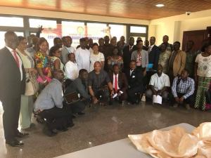 Group photograph of TB Parliamentary Caucus and other invited guest at the launching