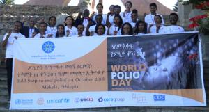 World Polio Day partial participants