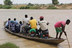 Polio teams going to hard-to-reach community to provide essential health services during cholera outbreak in Yobe state