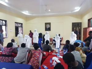 Donning and Doffing PPE for Infection Prevention and Control (IPC)