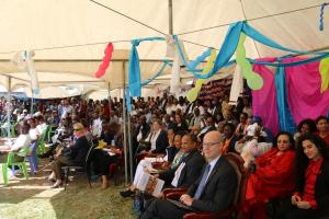 The 30th World AIDS DAY commemoration participants in Bishoftu town