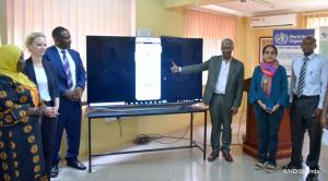 CTCA, Makerere University, Ministry of Health and WHO officials launch the 'Tobacco Spotter' mobile application