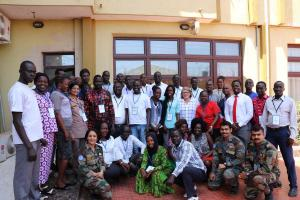 Participants of the influenza sentinel surveillance training