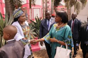 Dr Moeti wraps up official visit to Cameroon
