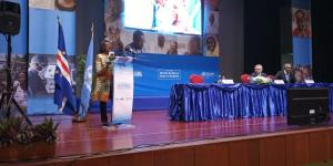 The President of the Republic of Cabo Verde opens second WHO Africa Health Forum