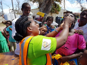 884,953 doses of oral cholera vaccine arrived in Mozambique